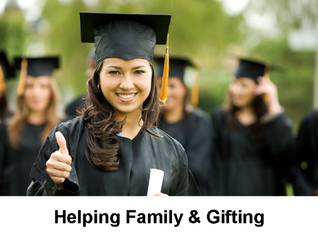 Helping Family & Gifting