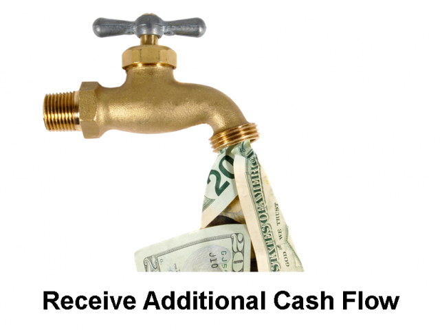 Receive Additional Cash Flow