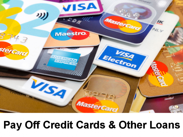 Pay Off Credit Cards & Other Loans