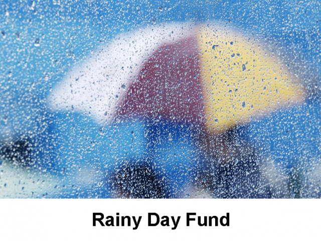 Access to Rainy Day Funds