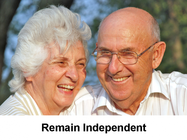 Afford Your Home – Remain Independent