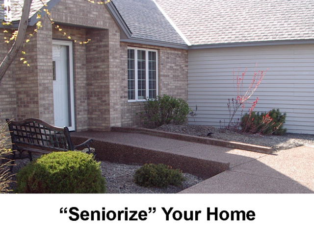 """Seniorize"" Your Home – When Physical Challenges Happen"